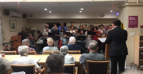 Retirement Village Christmas Choir Services